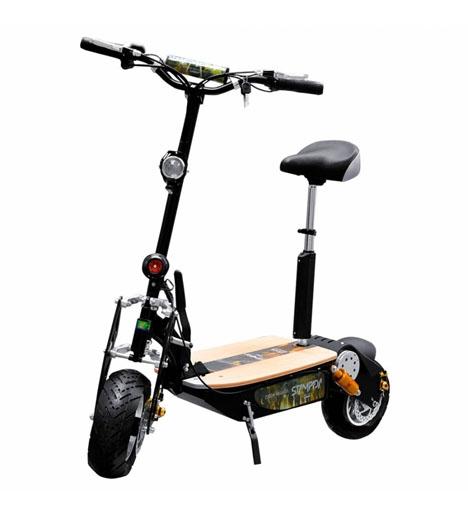 Elektriska sparkcyklar har blivit allt vanligare i spanska städer.