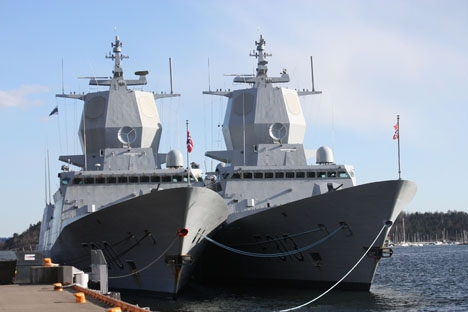 Sammanlagt fem fregatter som levererats till norska flottan av Navantia misstänks ha allvarliga designfel. Foto: Bjoertvedt/Wikimedia Commons