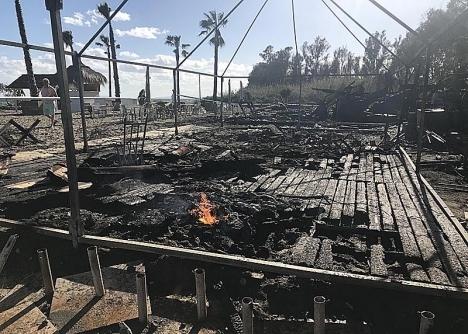 Den sprängda ligan tillskrivs både branden vid Heaven´s Beach och mordet på restaurangens ägare.