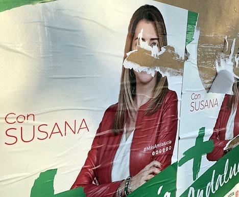 Vinnaren i det andalusiska regionalvalet Susana Díaz är samtidigt valets största förlorare.