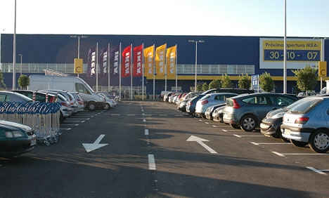 IKEA Málaga slog upp sina portar första gången 30 oktober 2007.