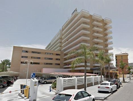 Hotel Don Pablo, i Torremolinos. Foto: Google Maps