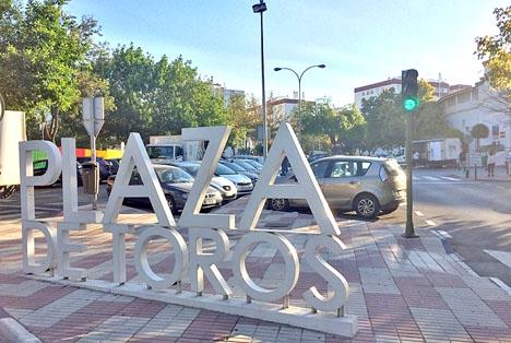 Tjurfäktningsarenan i Marbella ligger i kvarteret med samma namn,