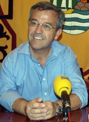 Borgmästaren José María García Urbano. Foto: Ayto de Estepona