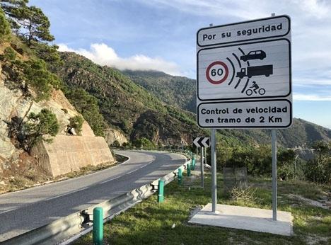 Sedan årsskiftet är högsta tillåtna hastighet på landsväg i Spanien 90 kilometer i timmen.