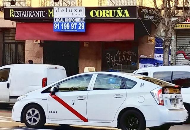 Nu är det taxisektorn i Madrid som är på krigsstigen. Foto: Luis Miguel Del Tío