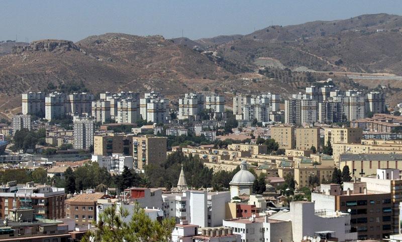 Kvarteret Palma-Palmilla ligger i utkanten av norra Málaga. Foto: Tyk/Wikimedia Commons
