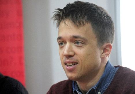 Íñigo Errejón förlorade primärvalet till partiledare för Podemos och har nu anslutit sig till en alternativ kandidatur till regionalparlamentet i Madrid. Foto: Fernando Jiménez Briz/Wikimedia Commons