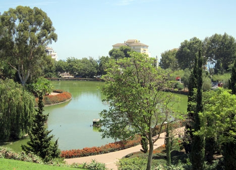 Mannen greps intill parken La Paloma, i Arroyo de la Miel. Foto: Ismael zniber/Wikimedia Commons