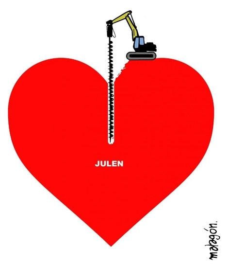 Spanien håller andan och tecknare som Malagón skickar kärlekshälsningar till pojken Julen, som saknas i en brunn i La Axarquía sedan 13 januari.