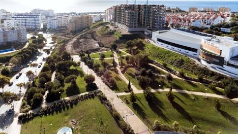 Den planerade kanan ingår i en utbyggnad av parken Los Niños. Foto: Ayto. de Estepona