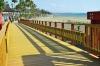 Estepona ska få en enhetlig strandpromenad och redan är 17 kilometer av den sammanlagda sträckan på 23 kilometer klar. Foto: Ayto de Estepona