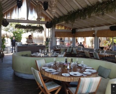 Playa Padre ligger vid Playa del Cable, vid Marbellas östra infart. Foto: Google Maps