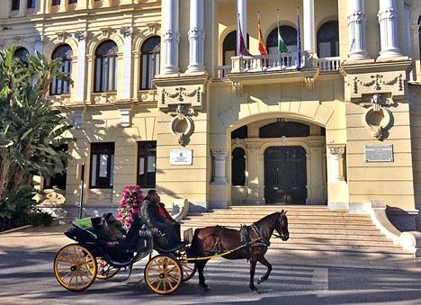 Det väntas bli en skakig resa i rådhuset i Málaga de sista tre månaderna fram till kommunvalet.