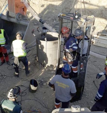 Kostaderna för den massiva räddningsaktionen är ej större för att många av de som deltog gjorde det frivilligt. Foto: Guardia Civil