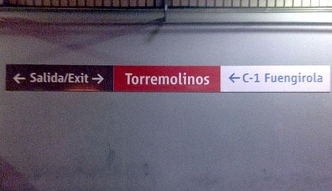 Det kommer att ta 18 månader att handikappanpassa tågstationen i Torremolinos.