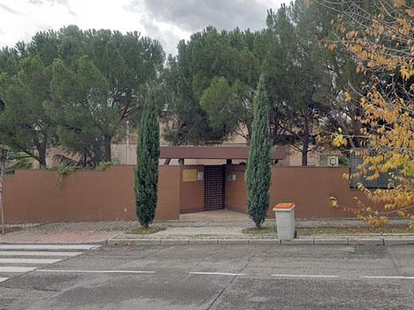 Nordkoreas konsulat och ambassad i Madrid. Foto: Google Maps
