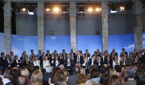 Hela 80 procent av Partido Populars huvudkandidater är nya namn.