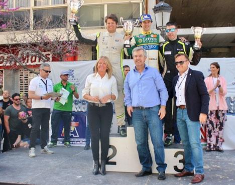 Vid prisutdelningen närvarade borgmästarna i både Marbella och Estepona. Foto: Ayto de Estepona