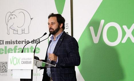 Ledaren för Vox Santiago Abascal. Foto: Contando Estrelas/Wikimedia Commons
