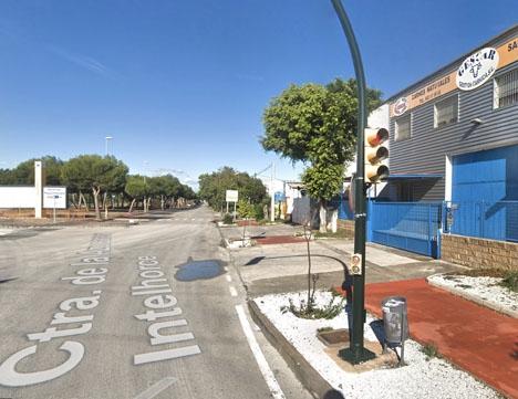 Mannen hittades ihjälskjuten vid industriområdet Guadalhorce. Foto: Google Maps