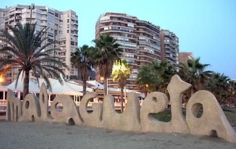 Mordoffret hittades tidigt 30 december förra året vid strandpromenaden i Málaga.
