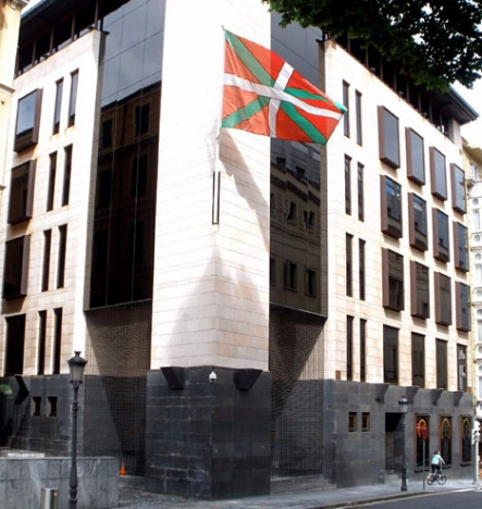 PNV:s huvudkontor i Bilbao. Foto: Zarateman/Wikimedia Commons