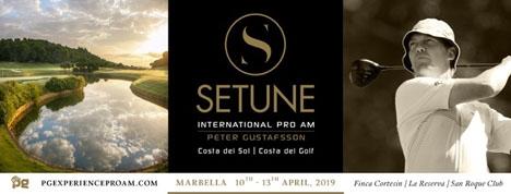 Setune International Pro Am arrangeras av svenska golfproffset Peter Gustafsson.