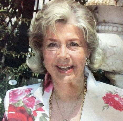 Margit Ohlssons sista önskemål var att få en stillsam begravning. Foto: Staffan Elensky