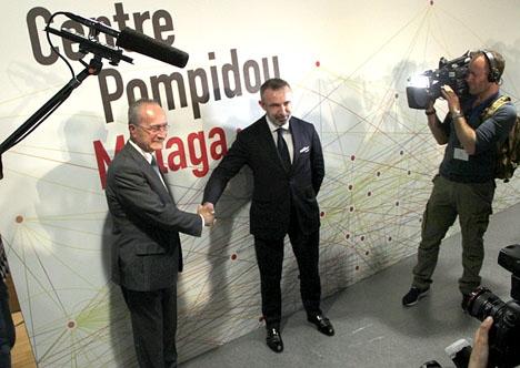 Avtalet mellan Málaga kommun och Centre Pompidou upphör att vara tillfälligt.