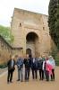 Anhöriga till både Ninni Billing och hennes fästman Sigge Jernmark reste till Granada och fick under Sydkustens ledning följa deras fotspår.