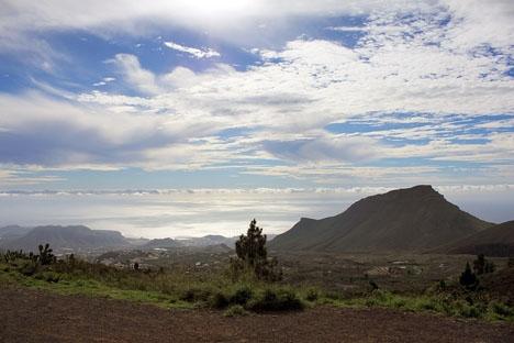 Kvinnan och hennes son hittades efter ett stort sökpådrag i ett bergsområde vid Costa Adeje, på Tenerife. Foto: trolvag/Wikimiedia Commons ARKIVBILD