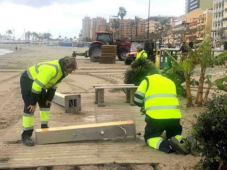 Då påsken i år infallit uteslutande i april fick sysselsättningen ingen draghjälp under första kvartalet. Foto: Ayto de Fuengirola