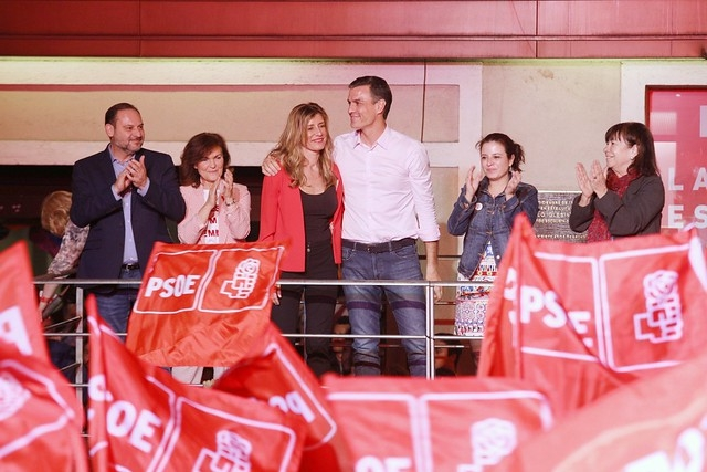 Pedro Sánchez gav PSOE den första segern i ett riksval sedan 2008.