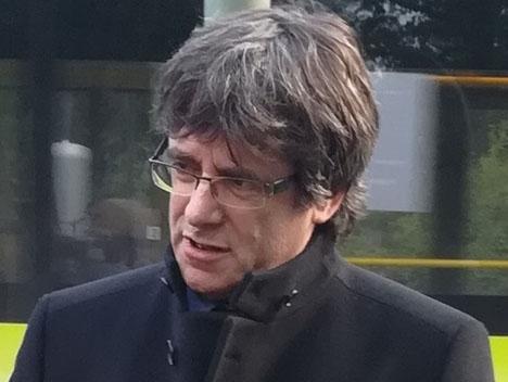 Puigdemont ser ut att hindras ställa upp i EU-valet för Junts pel Cat. Foto: Lukas Uhde/Wikimedia Commons
