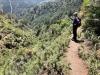 Den cirkulära vandringen tar oss upp på nära 700 meters höjd över havet.