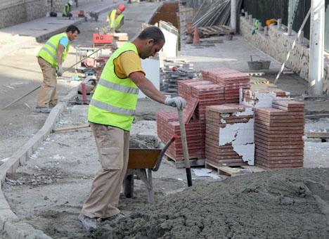 Den starta byggsektorn är en bidragande orsak till den spanska tillväxten.