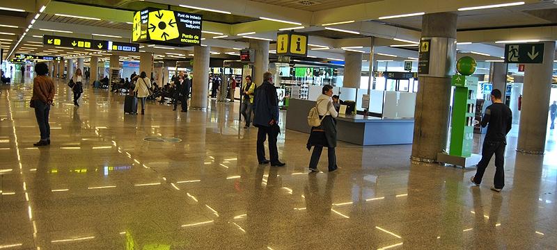 Kvinnan var säkerhetsvakt vid flygplatsen i Palma de Mallorca. Foto: Arodriguezgo/Wikimedia Commons ARKIVBILD