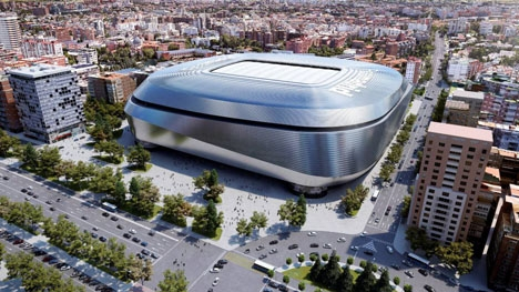 Nya Santiago Bernabéu väntas stå klar till slutet av 2022.