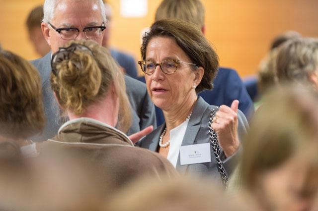 Styrelseledamot Birgitta Laurent är också ordförande för en av arbetsgrupperna i Utlandssvenskarnas parlament, som i år hålls 22 augusti i Näringslivet hus i Stockholm. Foto: Bengt Säll