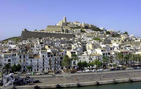 Ibiza stad. Foto: Forbfruit/Wikimedia COmmons ARKIVBILD