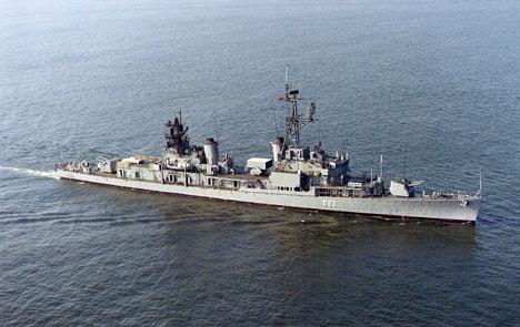 Spanska fregatten Méndez Nuñez. Foto: José Simó/Wikimedia Commons