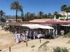 Firandet i Marbella skedde vid strandrestaurangen Perla Blanca, i Elviria. Foto: SWEA Marbella