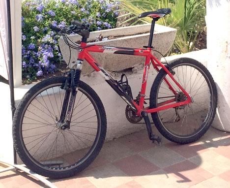 Cyklar kan vara hett villebråd i Málaga. ARKIVBILD