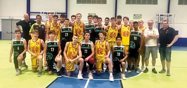 I slutet av maj besökte Åkersberga Baskets ungdomar Marbella för sex matcher på fem dagar.