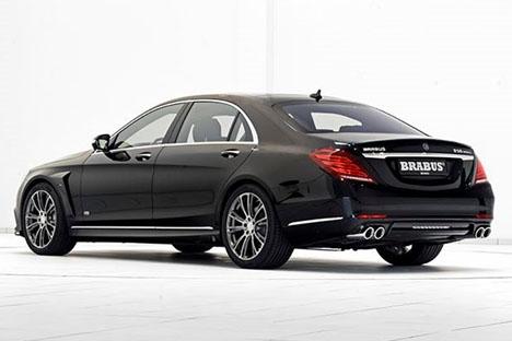 Mercedes Brabus, av samma modell som den Reyes förolyckades i. Foto: Mercedes