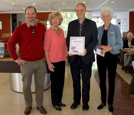 Sydkusten har också fått donation av SWEA Marbella tidigare.