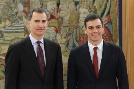 Kungen inleder samtalen med parlamentets olika talesmän, men kommer ej att träffa den fängslade Jordi Sánchez, från Junts pel Cat.