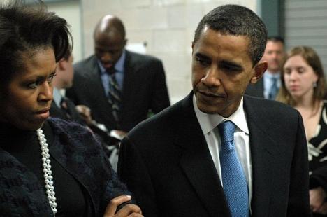 Paret Obama kommer endast befinna sig några timmar på Costa del Sol. Foto: Greg/Wikimedia Commons