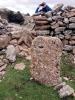 Stenformationerna har formats både av naturen och av de människor som förr om åren bodde här.